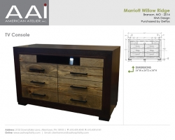 Marriott Willow Ridge Console