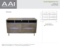 Hyatt Highlands Dresser