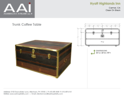 Hyatt Trunk Coffee Table